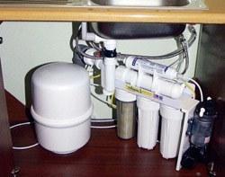 Установка фильтра очистки воды в Кургане, подключение фильтра очистки воды в г.Курган