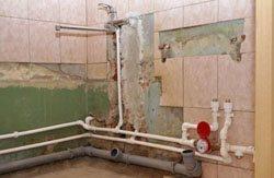 Замена старых труб в квартире, коттедже, на доче, доме, складе, помещении или офисе в городе Курган